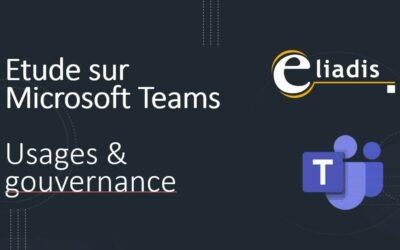 Etude sur Microsoft Teams : usages & gouvernance