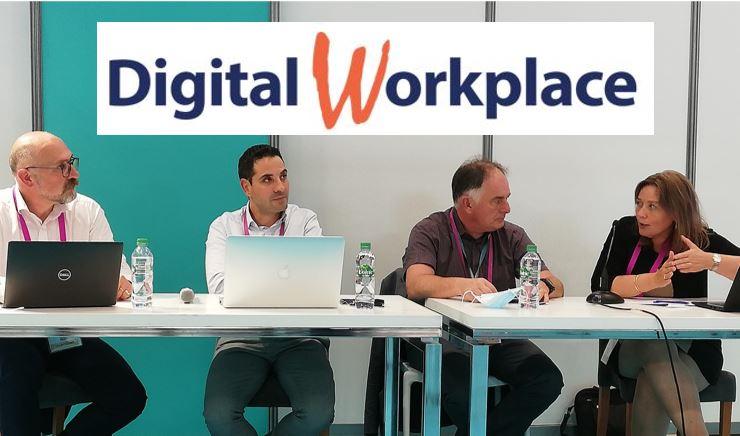 table-ronde Salon Digital Workplace