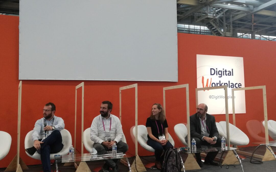 Podcast table-ronde Gestion de projet. Salon Digital Workplace